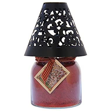 A Cheerful Giver Victorian Candle Shade, Black