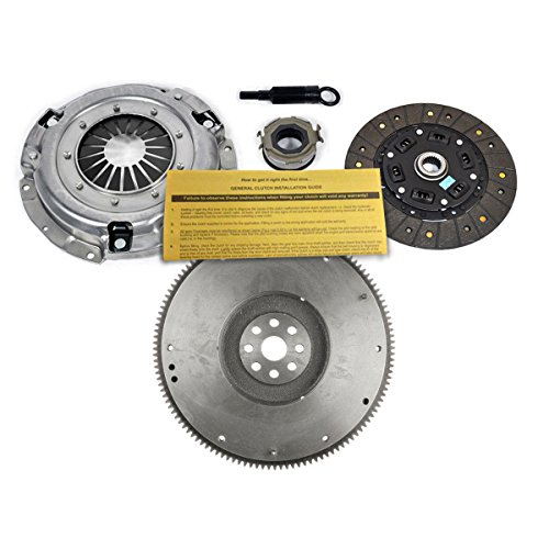 EFT OEM CLUTCH KIT & FLYWHEEL WORKS WITH SUBARU IMPREZA FORESTER LEGACY 2.5 N/T EJ25 (Clutch 2012 Subaru Wrx)