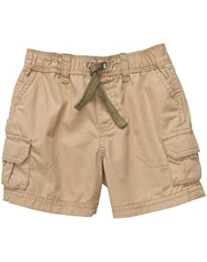 Carter's Infant Cargo Short - Khaki-24 Months