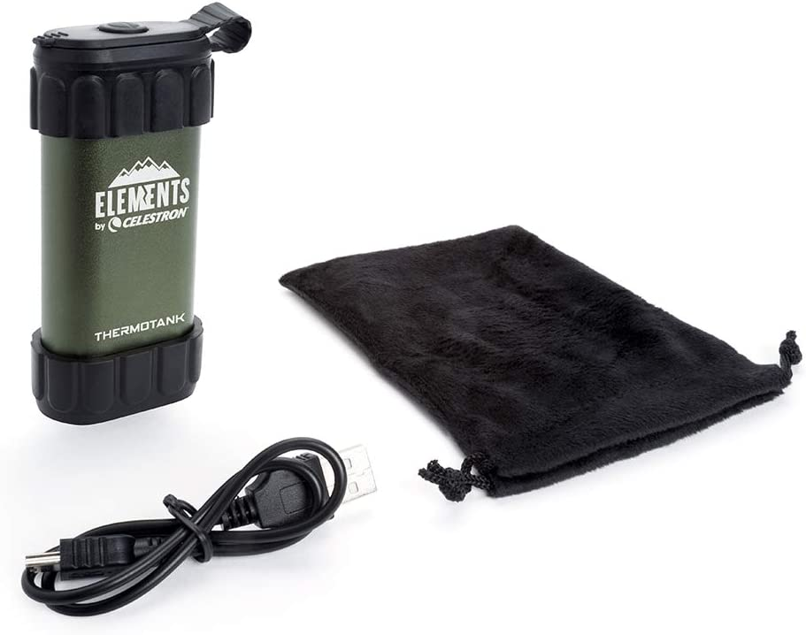 Celestron 48011 Elements ThermoTank Stay Warm on The Trail Hand Warmer