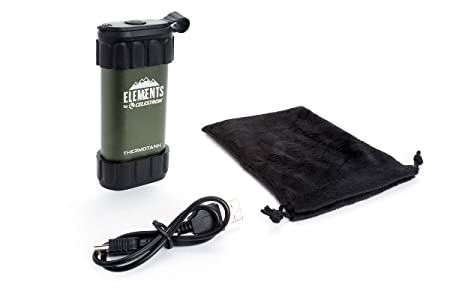 Celestron 48011 Elements Thermo Tank, Stay Warm On The Trail Hand Warmer by Celestron