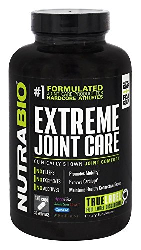 NutraBio Extreme Joint Care caps