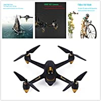 Hubsan X4 H501S Brushless Drone With Remote 1080P Camera ,GPS 6 Axis Gyro Quadcopter RTF- Flying Time 20mins,5.8G Real-Time Transmission Function-MOONHOUSE