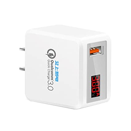 Amazon.com: BOYING US Plug adaptador de alimentación USB ...
