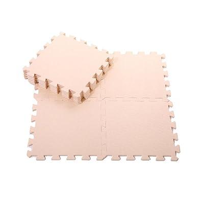17YEARS - Lot de 9matelas de sol en mousse - Pour enfants - Tapis de jeu - Puzzle - Tapis de protection - Tapis de yoga