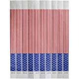 Bar Maid Tyvek No Tear American Flag Wristband, 500 count per pack -- 12 per case.