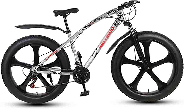 Bicicleta para joven Bicicletas De carretera Bicicletas bicicleta MTB Mountain Bike adulto agua motos de nieve Bicicletas grande de Neumáticos for hombres y mujeres de 26 pulgadas ruedas doble freno d: Amazon.es: