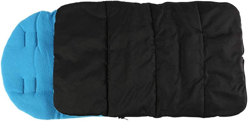 Footmuff//Cosy Toes Compatible with Pushchairs Buggies Prams and Strollers (Black)