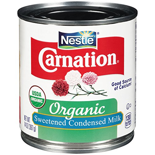 Carnation Organic Sweetened Condensed Milk, 14 Fluid Ounce (Pack of 24) by Carnation