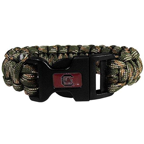 - NCAA South Carolina Fighting Gamecocks Camo Survivor Bracelet, Green