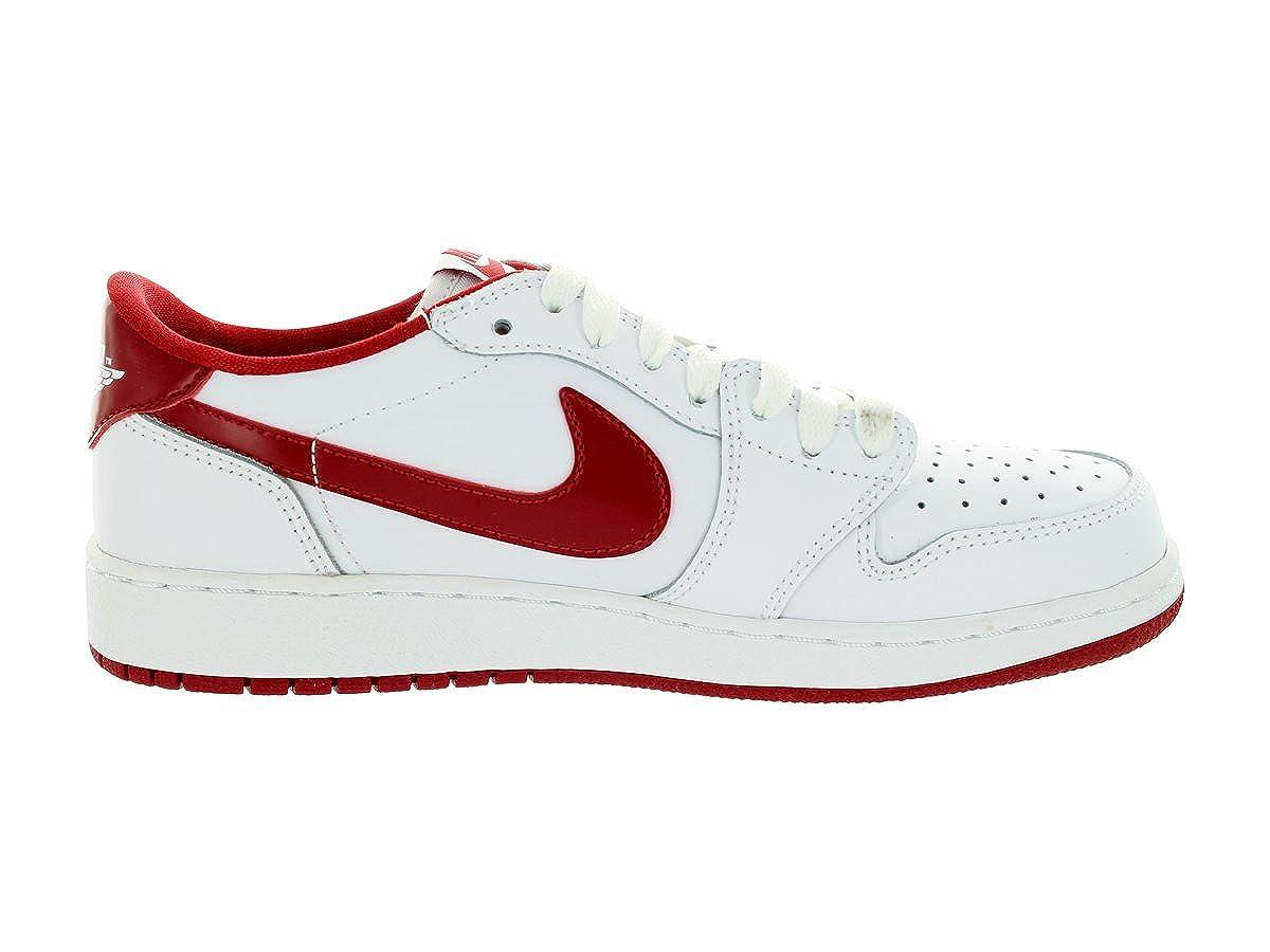 Jordan Boys Air 1 Retro Low Basketball Shoes 709999-101