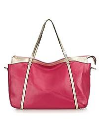 SAIERLONG Womens Casual Cowhide Messenger bag handbag shoulder bag