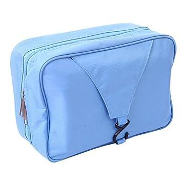 35140e6e9122 Amazon.com: HDE Personal Travel Shower Organizer Hanging Toiletry ...