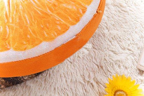 Orange Slice Pillow Fruit Plush 4