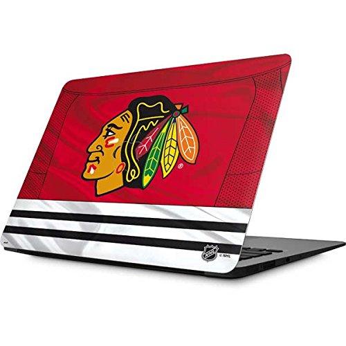 Skinit NHL Chicago Blackhawks MacBook Air 13.3 (2010-2016) Skin - Blackhawks Red Stripes Design - Ultra Thin, Lightweight Vinyl Decal Protection -