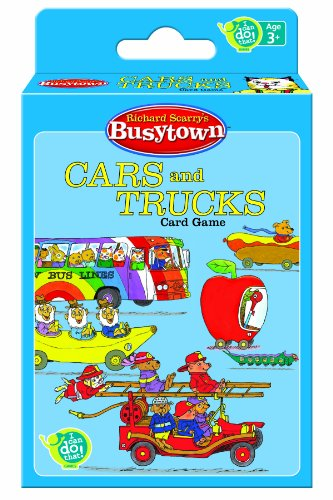 Wonder Forge Richard Scarry's Cars & Trucks Game