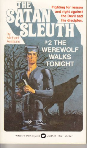 book cover of The Werewolf Walks Tonight