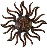 Deco 79 97918 Metal Sun Wall Decor Feel Every Morning More Fresh