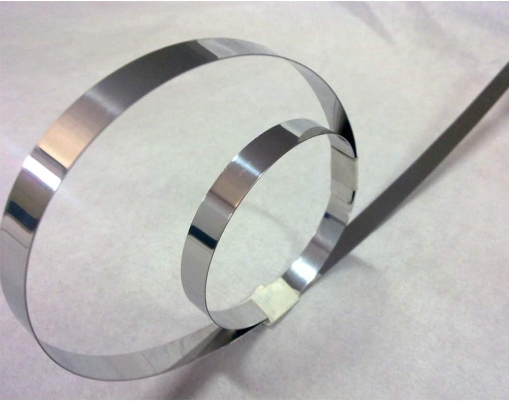 XYDZ 10M Ruban en Nickel pur Pour Soudure de Batterie Pure Nickel Bande Ruban Adh/ésif pour Li batterie 18650 Spot Soudure Compatible pour Spot Soudeur Machine 8 x 0,15 mm