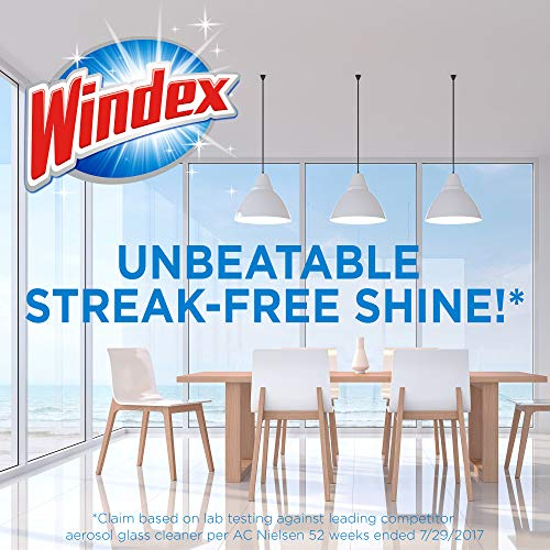 Windex Foaming Glass and Window Cleaner, 19.7 oz