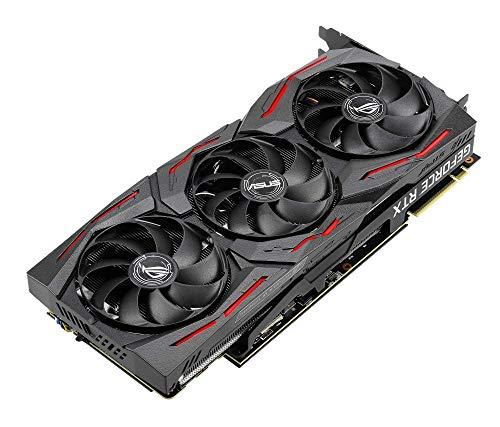ASUS ROG Strix GeForce RTX 2080 Super Advanced Overclocked 8G GDDR6 HDMI DP  1 4 USB Type-C Gaming Graphics Card (ROG-STRIX-RTX-2080S-A8G)