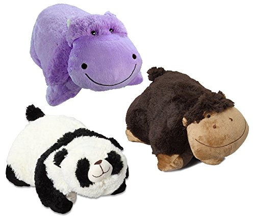 Pillow Pets Pee-Wees Plush Stuffed Animal Silly Monkey - ...