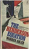 The Henderson Equation, Warren Adler, 0671817353