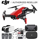 DJI Mavic Air Drone Quadcopter (Flame Red) Virtual Reality Experience Ultimate Bundle
