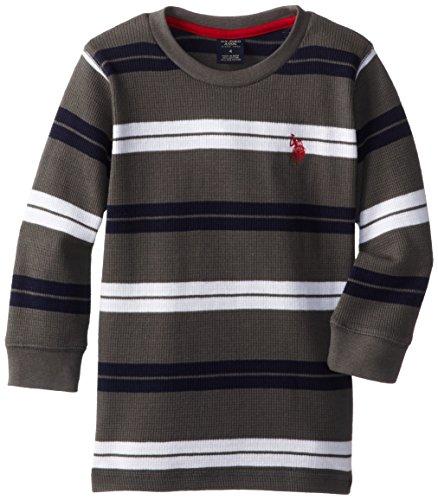 Polo Assn Little Boys Long Sleeve Thermal Pullover U.S