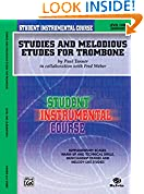 #8: Student Instrumental Course Studies and Melodious Etudes for Trombone: Level I