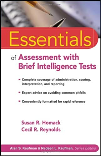 Amazon.com: Essentials of Assessment with Brief Intelligence Tests ...