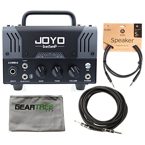 Joyo BanTamp Zombie Modern Hi Gain 20W Tube Amp Head w/ Cloth and 2 Cables