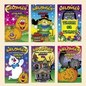 HALLOWEEN ACTIVITY PADS (1 DOZEN) - (Old School Disney Costumes)