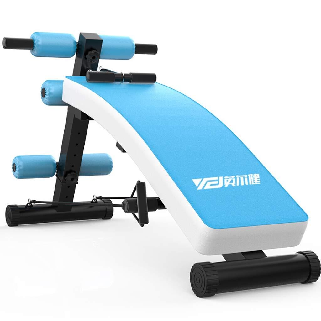 Flashing FL- Einstellbare Arc-Shaped Ablehnen Sit up Bench Crunch Board Übung Fitness Workout, multifunktionale Fitnessgeräte, Tragfähigkeit 200 kg