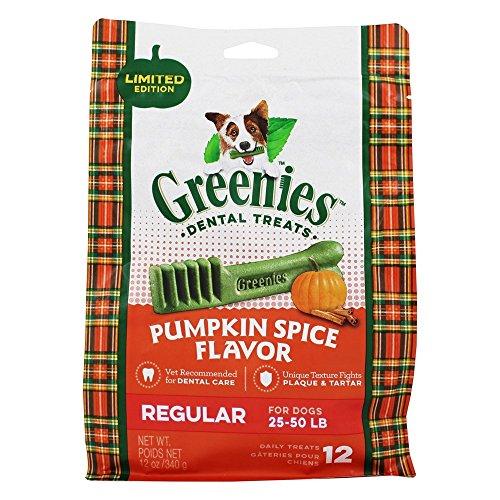 Greenies Pumpkin Spice Flavor Regular (12 Count)