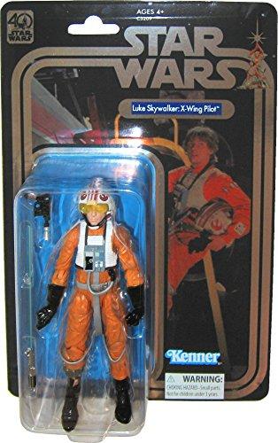 Star Wars Celebration 2017 Exclusive The Black Series 40th Anniversary Luke Skywalker X-Wing Pilot 6 Inch Figure