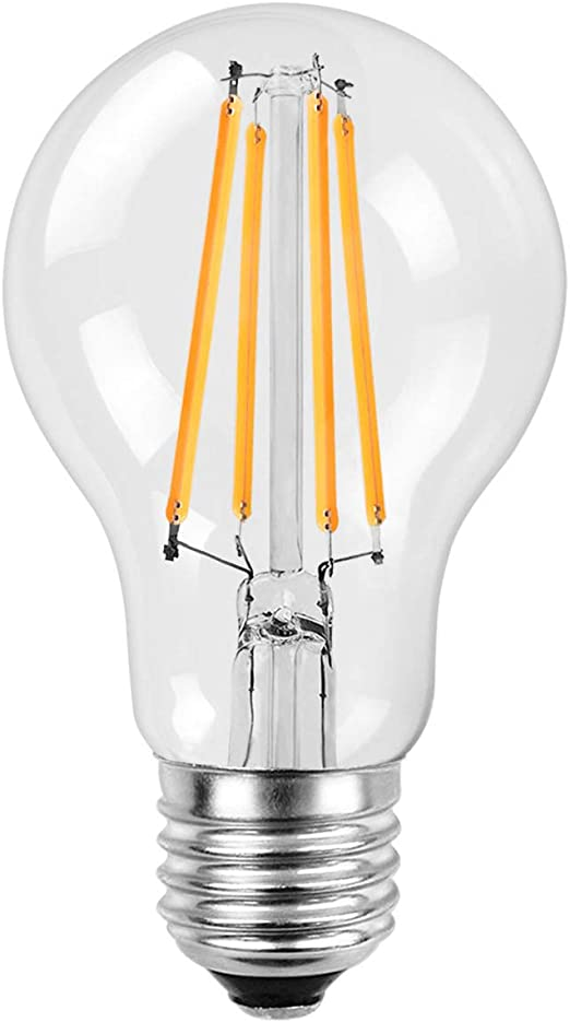 A19 Style Replacement for 60W Incandescent E26 Light Bulbs -24 Volt-Amber 5W LED Light Bulb