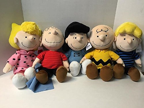 Amazon Com Peanuts Charlie Brown Snoopy Characters Set Of 5 Include