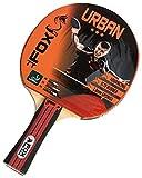 Fox TT Unisex Urban 3 Star Table Tennis Bat, Red by Fox TT
