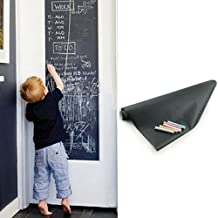 Chalkboard Contact Paper Blackboard Wall Sticker 18 x 79'' Removable and Reusable for Office Home