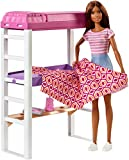 Barbie Doll and Furniture Set, Loft Bed with
