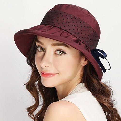 Cappello A Visiera colore Di uv Seta Solare Sunhat Con Anti Muma B Cappelli Protezione EFqOqt