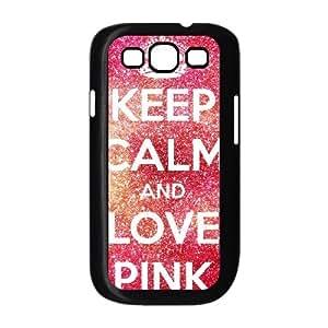 LZHCASE Diy Back Case Love Pink For Samsung Galaxy S3 i9300 [Pattern-1]