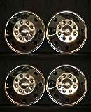 """16"""" Rv, Truck, Motorhome, Van Stainless Steel Wheel Covers - Set of Four www.rvwheel.com"""