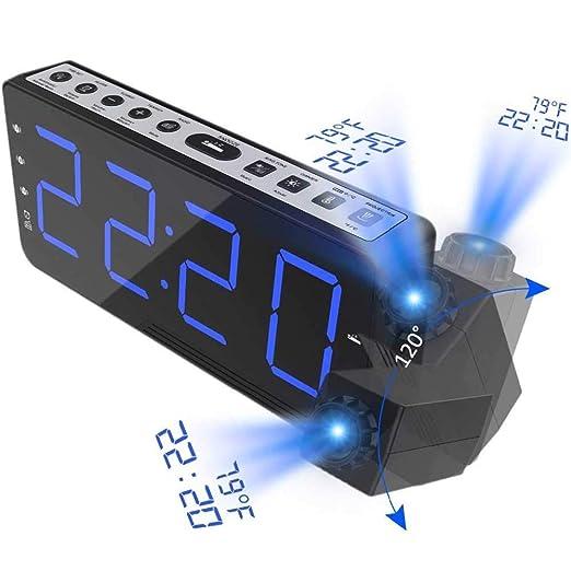 FAY Proyector Digital Relojes De Alarma con Función De Repetición ...