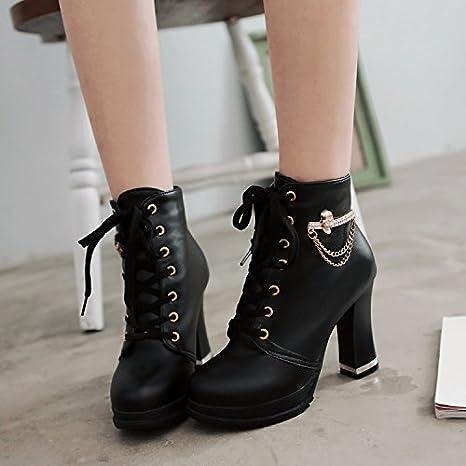 Botas para mujer AGECC Cómodos, hermosos y duraderos, zapatos ...