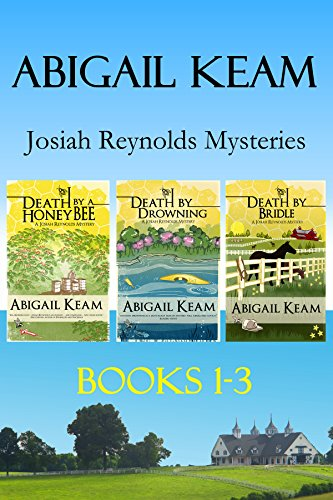 Josiah Reynolds Mystery Box Set 1: Death By A HoneyBee, Death By Drowning, Death By Bridle (Josiah Reynolds Mysteries Boxset) cover
