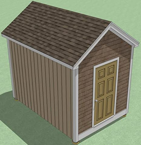 8x12 Shed Plans How To Build Guide Step By Step Garden