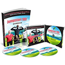 JumpStart 180 Fitness Low Impact Workout Videos with a Workbook(4 Dvd's)