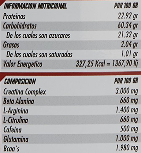 Revtech Mammuth Carbohidratos y Proteína, Sabor Fresh Blue ...